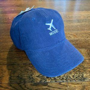 Travel Mode Blue Baseball Cap